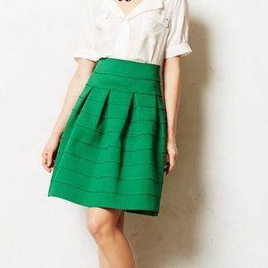 Girls From Savoy Anthropologie Ponte Bell Skirt M